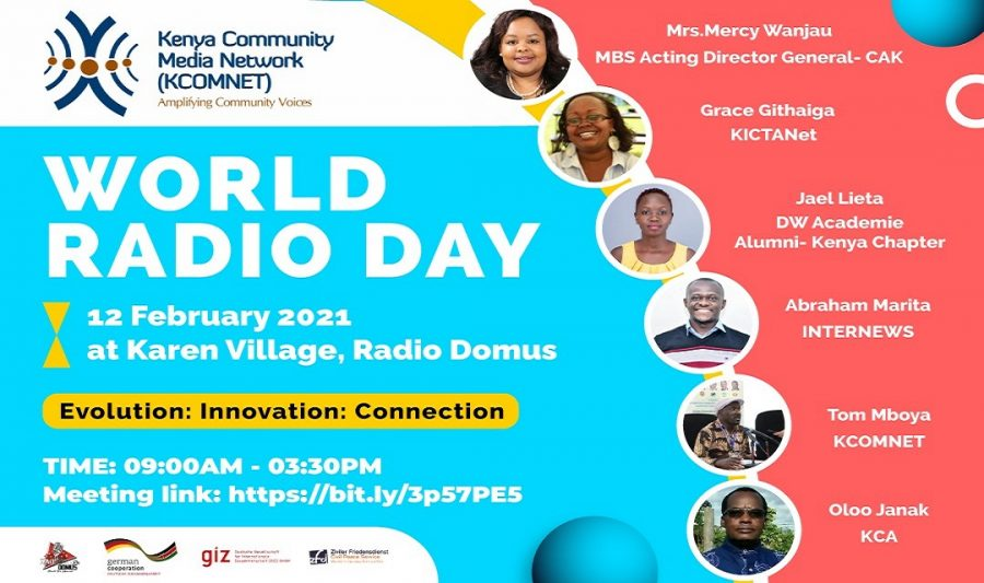 World Radio Day Remarks by Remarks by Mrs. Mercy Wanjau, MBS, Acting Director General, Communications Authority of Kenya