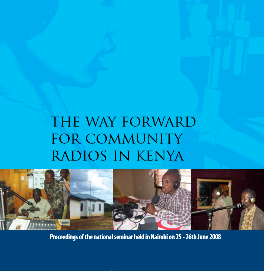 The way forward for community radios in Kenya